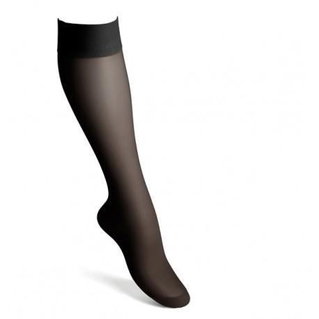 Stödstrumpor nylon svart